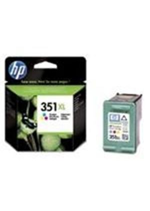 HP No.351XL Tri-Colour Inkjet Print Cartridge with Vivera Inks