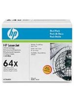 HP LaserJet CC364X Dual Pack Black Print Cartridges (Yield 24,000 Pages)