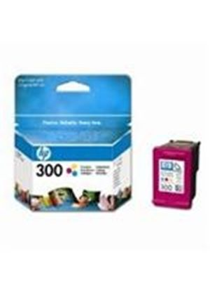 HP No.300 Tri-Colour (Yield 165 pages) Ink Cartridge with Vivera Inks