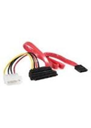 StarTech Upward Right Angle SATA Cable with LP4 Adaptor (0.4m)