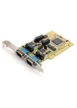 StarTech 2 Port RS232/422/485 PCI Serial Adaptor Card with ESD Protection