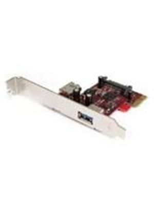 StarTech 2 Port PCI Express SuperSpeed USB 3.0 Card - 1 Internal 1 External