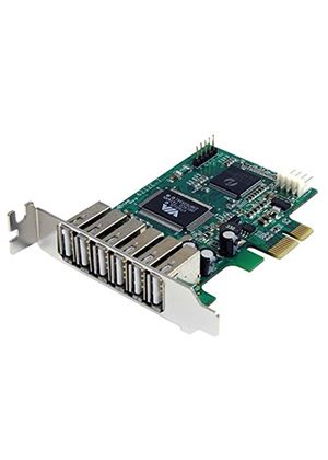 StarTech 7 Port PCI Express Low Profile High Speed USB 2.0 Adaptor Card