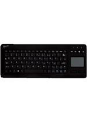 Arctic Ultra Slim USB Wireless Keyboard with Multi-Touch pad (Black)