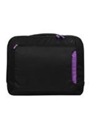 Belkin 15.6 inch Notebook Messenger Bag (Jet/Royal Lilac)