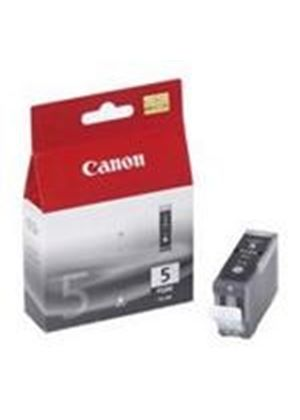 Canon PGI-5BK Ink Tank - 1 x Pigmented Black (Yield 500 Pages)