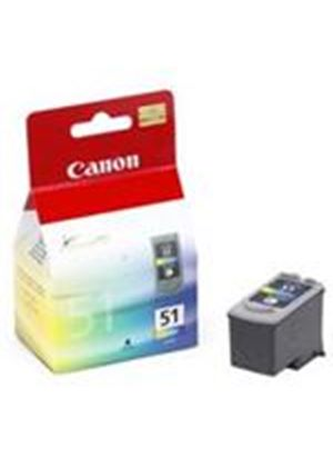 Canon CL-51 FINE High Yield Ink Cartridge (Colour) for PIXMA iP6220D/iP6210D/iP2200/MP450/MP170/MP150 (Blistered Security Tag)