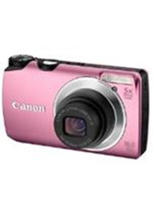 Canon Powershot A3300 IS Digital Camera 16MP 5x Optical Zoom 2.7 inch LCD (Pink)