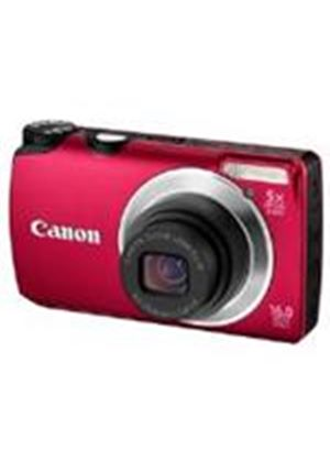 Canon Powershot A3300 IS Digital Camera 16MP 5x Optical Zoom 2.7 inch LCD (Red)