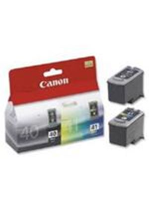 Canon PG-40 FINE Ink Cartridge (Black) for PIXMA iP2200/1600/MP450/MP170/MP150 + Canon CL-41 Colour Ink Cartridge (Multi-pack)