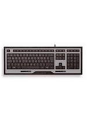 Cherry INFINITY JK-0210 Corded MultiMedia Keyboard (Silver/Black)