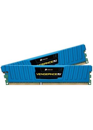 Corsair Vengeance 8GB (2x4GB) Memory Kit PC3-12800 1600MHz DDR3 DIMM (Blue)