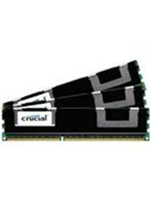 Crucial 24GB Memory Kit (3x8GB) PC3-10600 1333MHz DDR3 Registered ECC CL9 240-pin DIMM (Dual Ranked)