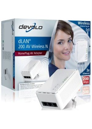 Devolo dLAN 200 AV Wireless N Adaptor (HomePlug AV)