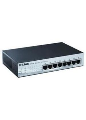 D-Link DES-1210-08P F8 Port Fast Ethernet PoE Smart Switch