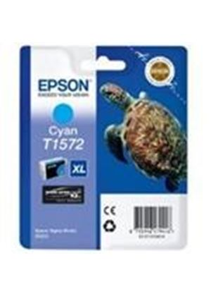 Epson Turtle T1572 (25.9ml) Ink Cartridge (Cyan) for Stylus Photo R3000