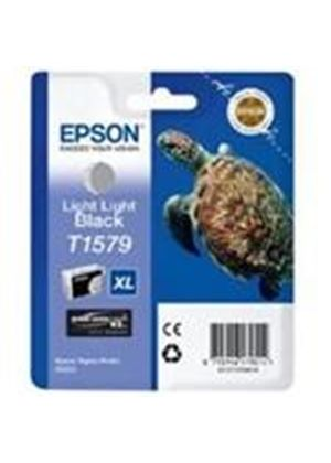 Epson Turtle T1579 (25.9ml) Ink Cartridge (Light Light Black) for Stylus Photo R3000