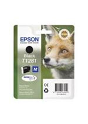 Epson T1281 Black Ink Cartridge (Retail Packed, Untagged) for Stylus Office BX305F/Stylus S22/SX125/SX420W/SX425W