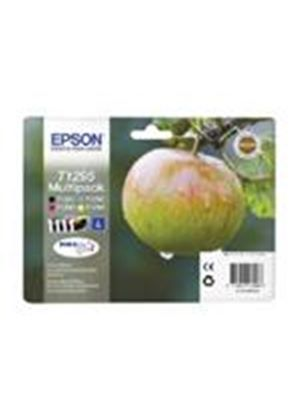 Epson T1295 4 Colour Multipack Ink Cartridges Black, Cyan, Magenta, Yellow (RF Tag) for BX305F/BX320FW/BX525WD/BX625FWD/SX420W