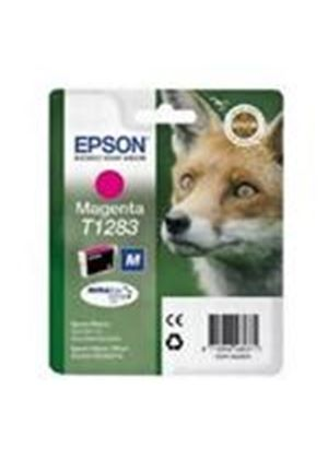 Epson T1283 Magenta Ink Cartridge (Retail Packed, Untagged) for BX305F/S22/SX125/SX420W/SX425W