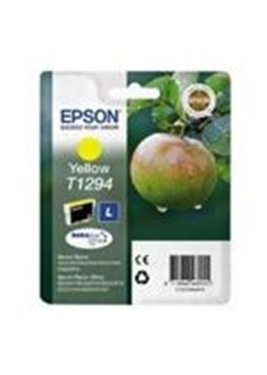 Epson T1294 Yellow Ink Cartridge (Retail Packed, Untagged) for BX305F/BX320FW/BX525WD/BX625FWD/SX420W