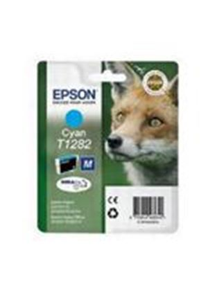 Epson T1282 Cyan Ink Cartridge (Retail Packed, Untagged) for BX305F/S22/SX125/SX420W/SX425W