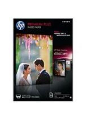 HP Premium Plus Glossy Photo Paper A4 21.0 x 29.7cm (50 Sheets)