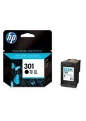 HP No.301 (Yield 190 Pages) Black Ink Cartridge