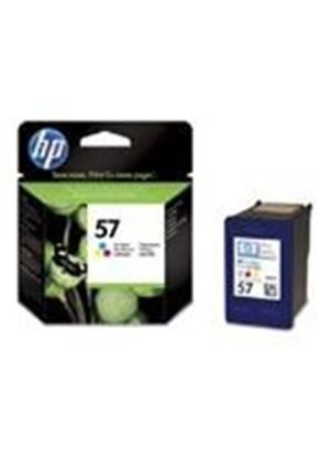 HP No.57 Tri-Colour (Yield 500 Pages) Inkjet Print Cartridge for PhotoSmart 100