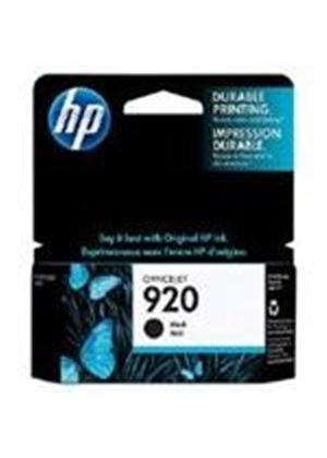 HP No.920 Black Officejet Ink Cartridges (Yield 420 Pages)