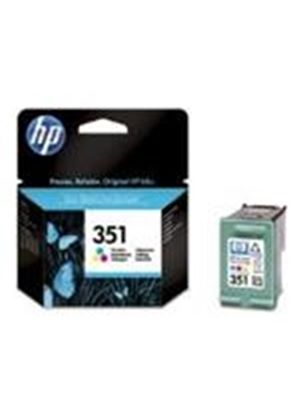 HP No.351 Tri-Colour Inkjet Print Cartridge with Vivera Inks