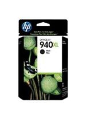 HP 940XL Black (Yield 2200 Pages) Officejet Ink Cartridge