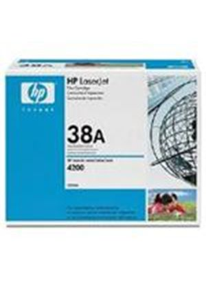 HP No.38A Contract Black (Yield 12,000 Pages) LaserJet Standard Capacity Smart Print Cartridge for HP LaserJet 4200 printer series