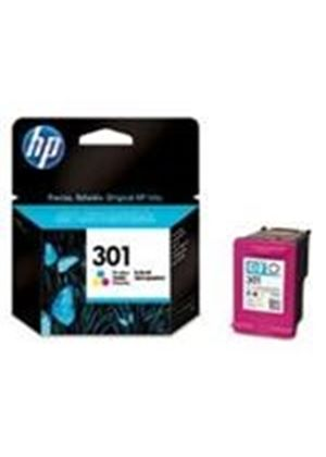 HP No.301 (Yield 165 Pages) Tri-Colour Ink Cartridge (Cyan, Magenta, Yellow)