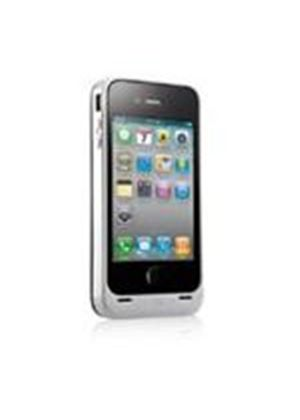 Kensington PowerGuard Battery Case with Card Stand for iPhone 4  Pearl White)