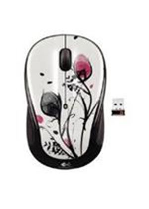 Logitech M325 Wireless Mouse (Fingerprint Flower)