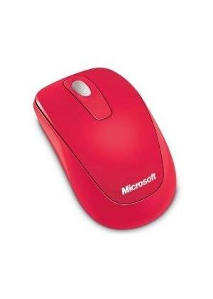 Microsoft 1000 Wireless Mobile Mouse (Hibiscus Red)