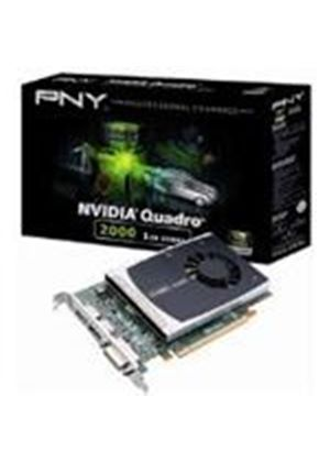 PNY NVIDIA Quadro 2000 Graphics Card 1GB GDDR5 PCI-Express 2.0 x16 (Retail)