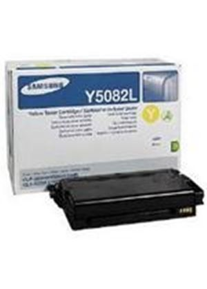Samsung Y5082L Yellow High Yield (4,000) Toner Cartridge for CLP-620/670 Colour Laser Printers