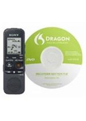 Sony ICD-PX312 Digital Voice Recorder with Memory Card slot with Dragon 11 Software