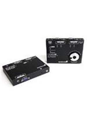 StarTech VGA Video Extender over Cat 5 with Audio and RGB SKEW Calibration (Black)