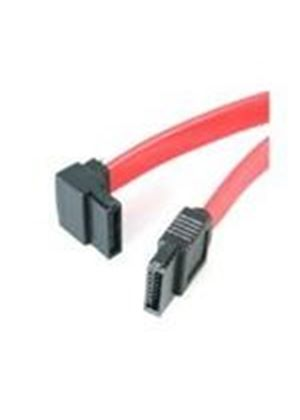 StarTech (30cm) SATA to Left Angle SATA Serial ATA Cable (Red)