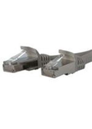 StarTech 14ft Gray Shielded Cat6a Molded STP Patch Cable