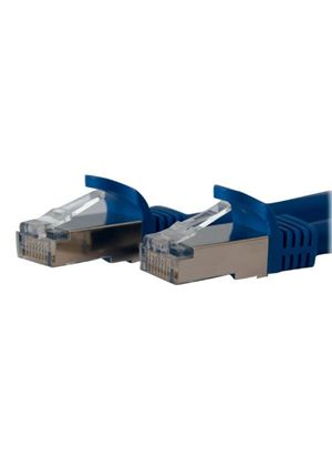 StarTech 3ft Blue Shielded Cat6a Molded STP Patch Cable