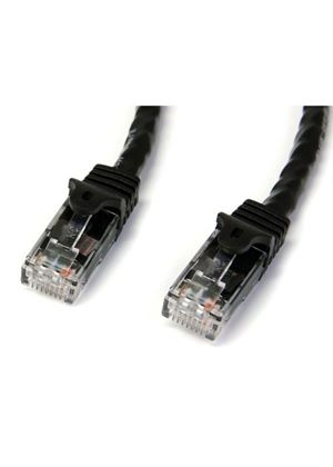 StarTech Black Snagless Cat6 UTP Patch Cable - ETL Verified (15.24m)