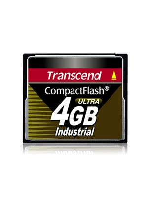 Transcend 4GB Industrial Ultra Speed CompactFlash Card