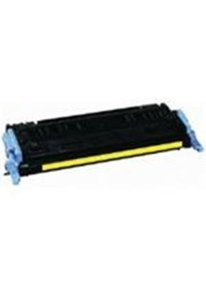 V7 HP Compatible Q6002A Yellow Toner Cartridge (Yield 2000 Pages) for Colour LaserJet 1600, 2600N, 2600DN, 2600DTN, CM1015 MFP, CM1017 MFP