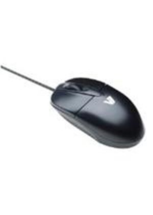 V7 M30P10-7E Standard Optical USB Mouse (Black) - Retail