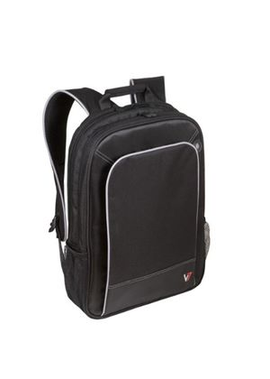 V7 Professional Backpack (Black) for 17 inch Notebooks