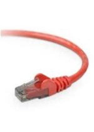 V7 CAT6E Patch Cable STP (Shielded) - 1m (Red)